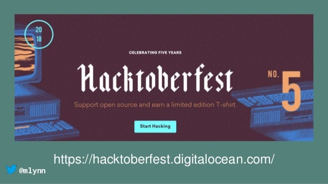 @mlynn https://hacktoberfest.digitalocean.com/