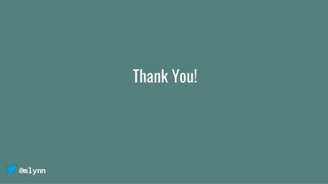 @mlynn Thank You!