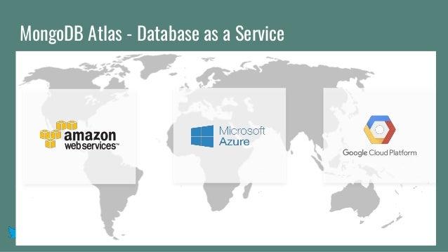 @mlynn MongoDB Atlas - Database as a Service