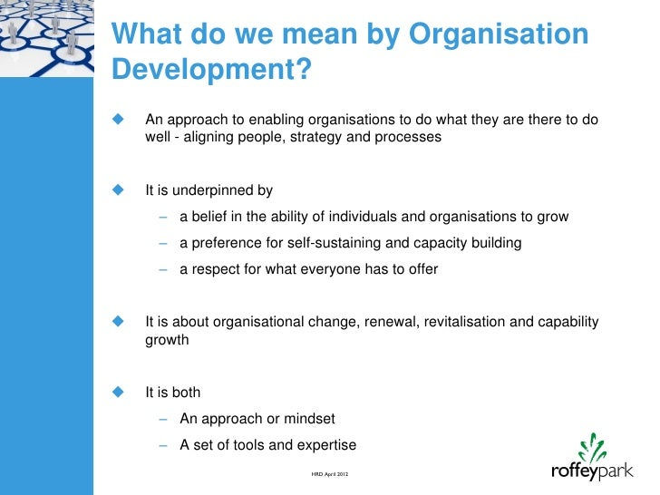 Organisational Development Plan Template Plan Template