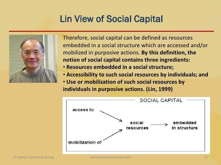 Coleman social capital