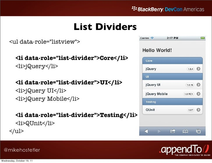Jquery mobile listview divider icon — 2