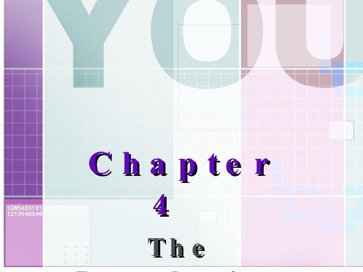 <ul><ul><li>Chapter 4   </li></ul></ul><ul><ul><li>The Developing Person </li></ul></ul>