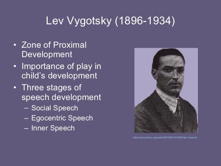 vygotsky and attachment Discover what psychologists vygotsky, erikson & bandura discovered and documented from their research bowlby's attachment theory proposes that the establishment of relationships with caregivers is a critical feature of child development which has a lifelong influence on social relationships defining.