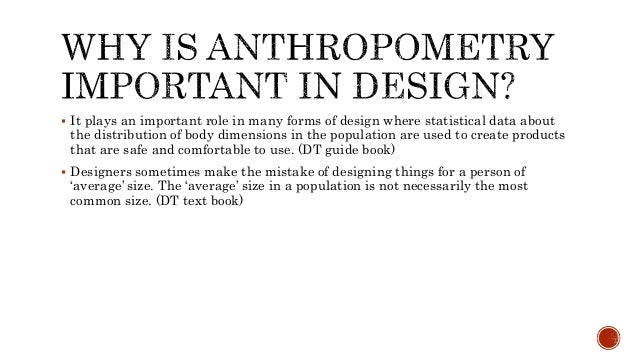 Development Anthropometry