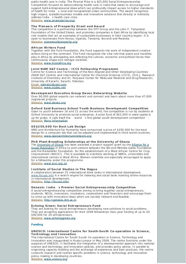 Development Challenges, South-South Solutions: November 2009