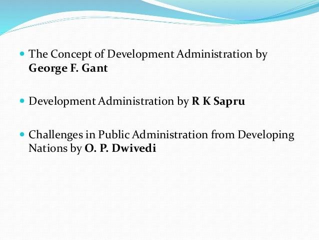 Development Administration: Concept & Features