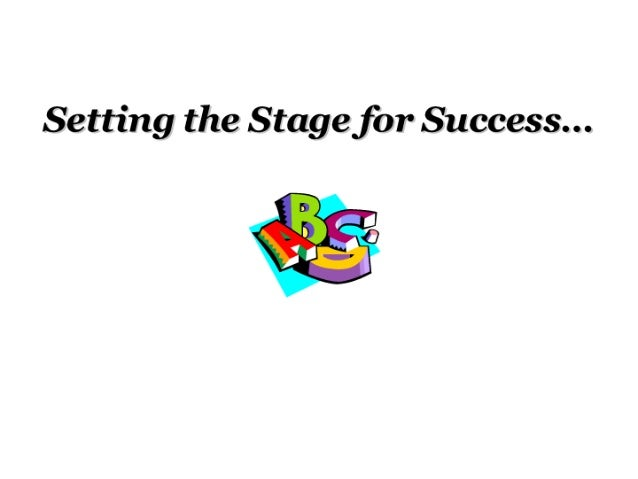 set the stage to success Mission, ks, aug 01, 2016 (marketwired via comtex) -- tips for a smooth transition back to school mission, ks--(marketwired - aug 1, 2016) - (family.
