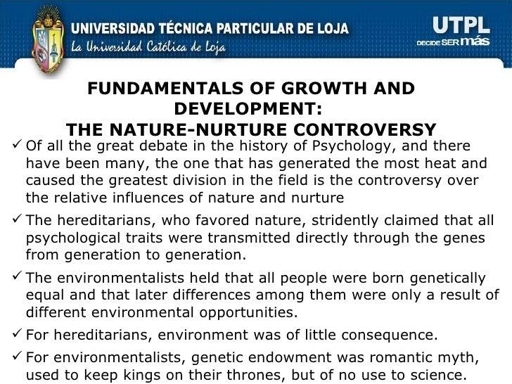 fundamentalism and nature vs nurture