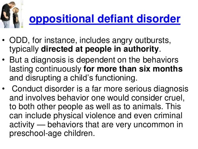 an introduction to the issue of oppositional defiant disorder odd Find and save ideas about oppositional defiant disorder on pinterest | see more ideas about defiance disorder, odd disorder and oppositional defiance.