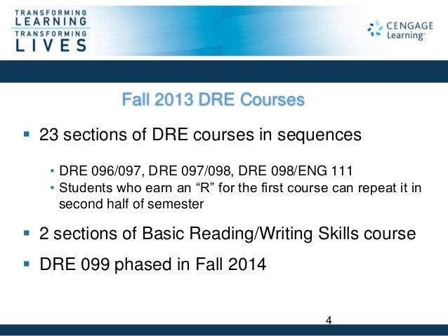 dre 097 course Placement test eng 075 eng 085 eng 095 eng 111 dre 096 dre 097  dre 098 eng 111 accuplacer dre composite score (drecomp)104-.