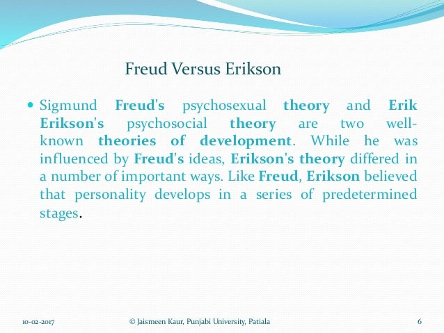 Freud vs erikson essay writer