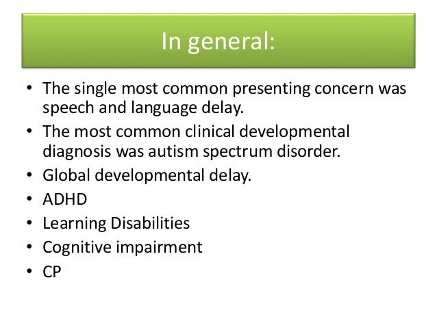Approach to child with Developmental Delay