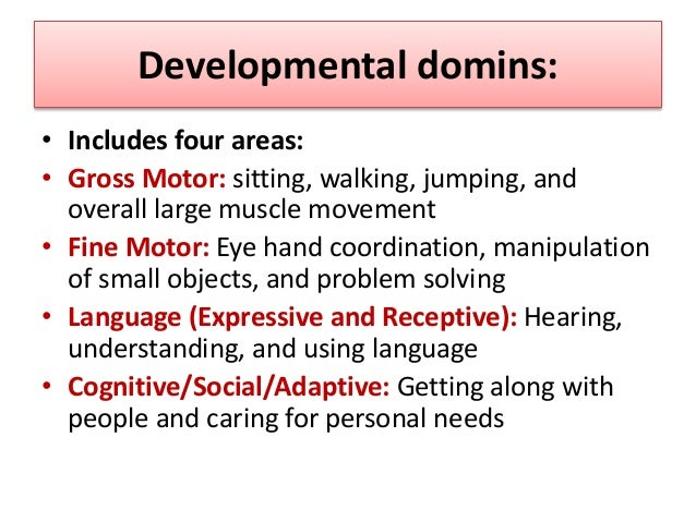 Important notes • We will assess two ages; infant and older children. • Be a good observer.  during assessment of develop...
