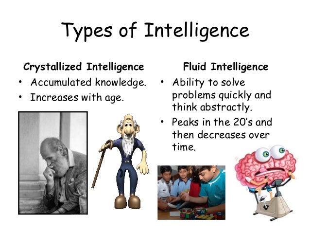 Fluid vs Crystallized Intelligence