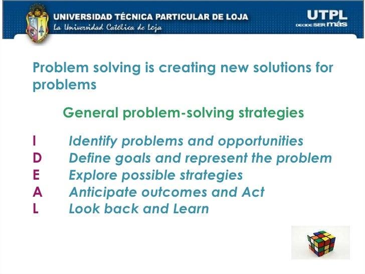 definition of problem solving in psychology