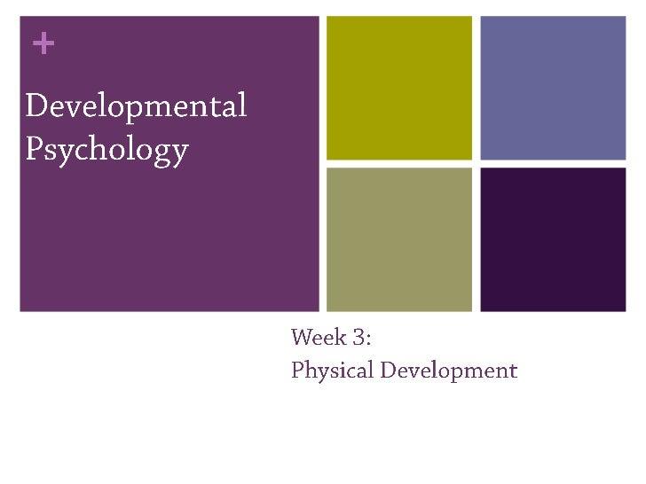Developmental psychology 3