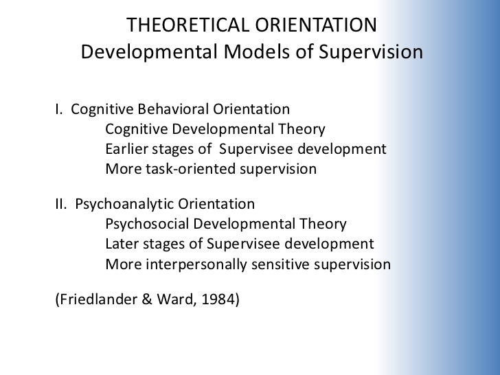 orientation of counseling theory Theoretical orientation scale (tos)the author has devised the theoretical  orientation  theories of counseling and psychotherapy: an integrative  approach.