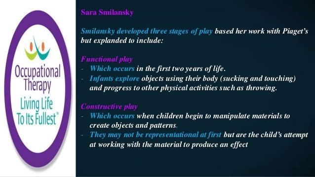 sara smilansky theory of play