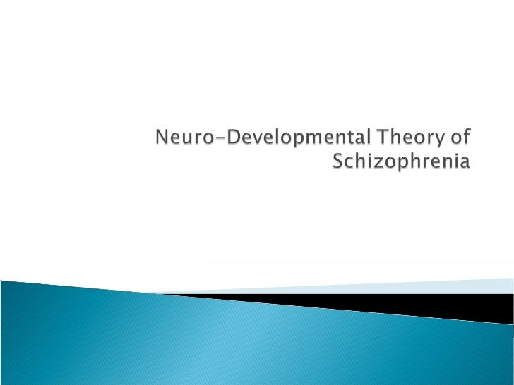 Researchers agree that schizophrenia is botha neuro-developmental and a neuro-degenerative