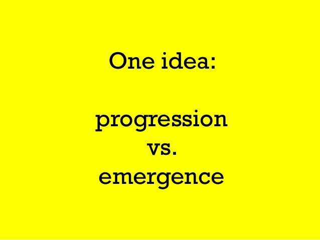 Emergenceis the primordial game structure, where a game is specified as a small number of rules that combine and yield lar...