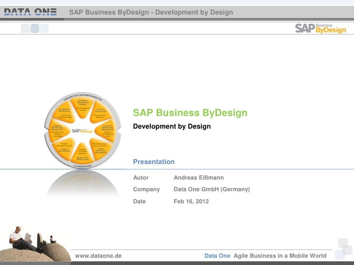SAP Business ByDesign - Development by Design                  SAP Business ByDesign                  Development by Desig...