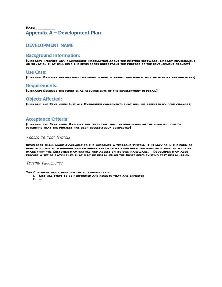Software Development Agreement Template The Software Sample