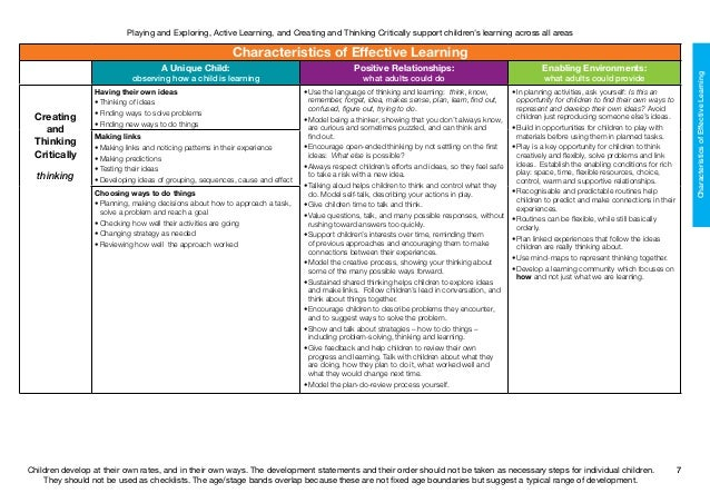observation of child development essay