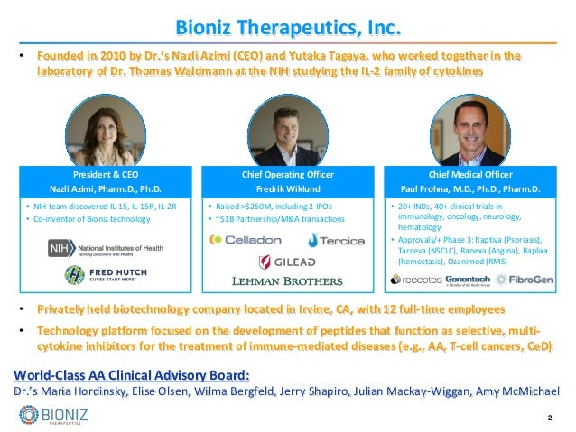 Development of a Novel Multi-Cytokine Inhibitor, BNZ-1, for the Treatment of Moderate to Severe Alopecia Areata Slide 2