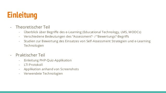 Development of Quiz Self-Assessment Tools and their Integration in Model Slide 2