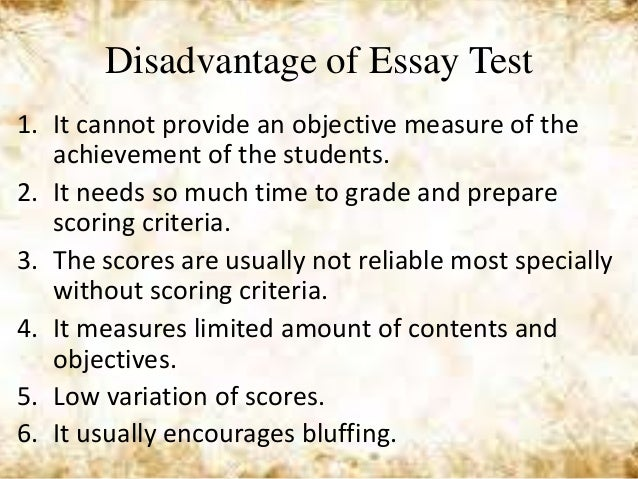 the disadvantages of psychometric testing essay Team focus (2004) disadvantages of psychometric testing [internet]  we will write a custom essay sample on leadership qualities specifically for you.