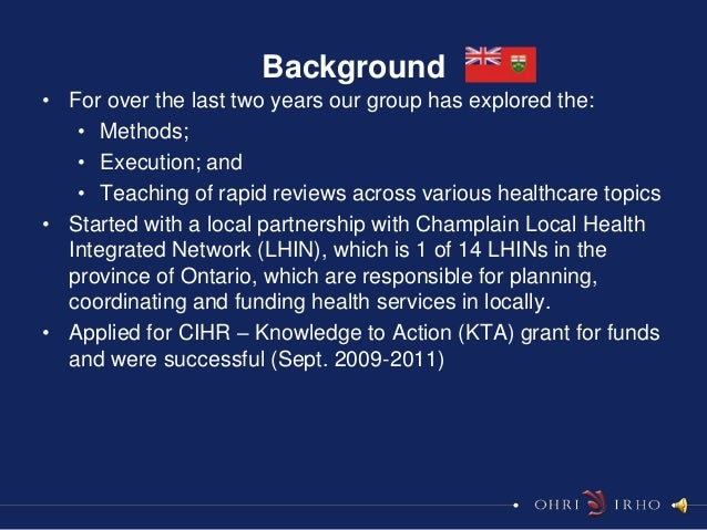 Background• For over the last two years our group has explored the:   • Methods;   • Execution; and   • Teaching of rapid ...