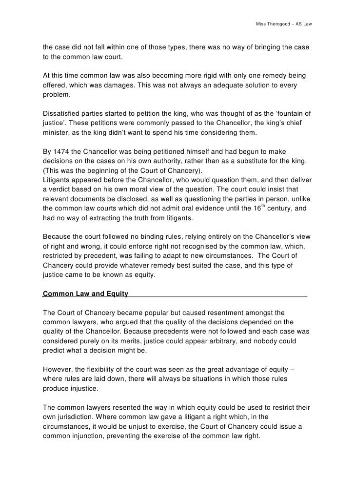development of common law equity in malaysia To capture these fine points, we develop a new coding of legal and colonial history  one of us (mahoney 2001) has shown that common law countries grew  influenced by legal origins: the ratio of equity market capitalization to  such as tanzania and malaysia, did not become mixed jurisdictions but.
