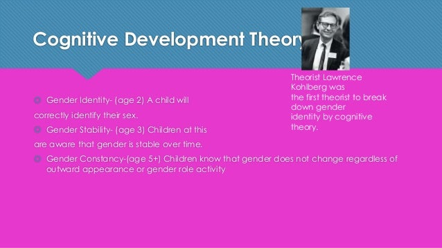cognitive theory of gender role development