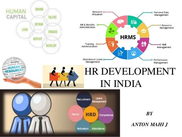 development of human resource in india