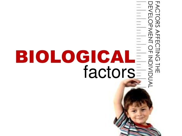 FACTORS AFFECTING THEDEVELOPMENT OF INDIVIDUAL            BIOLOGICAL                  factors