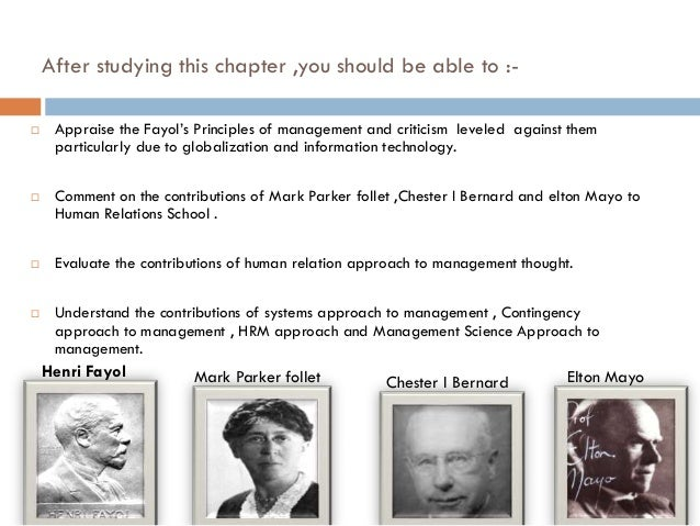 contribution of charles babbage to management thought An analysis of the schools of management thought indicates that none of them has all of the  another was charles babbage  taylor's contribution still.