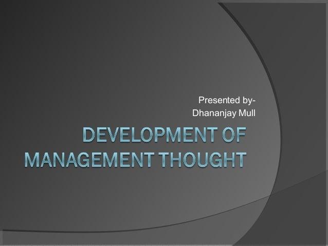 Presented byDhananjay Mull