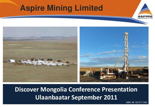 09 09 2011 Development of Mongolian coking coal exploration in northe…