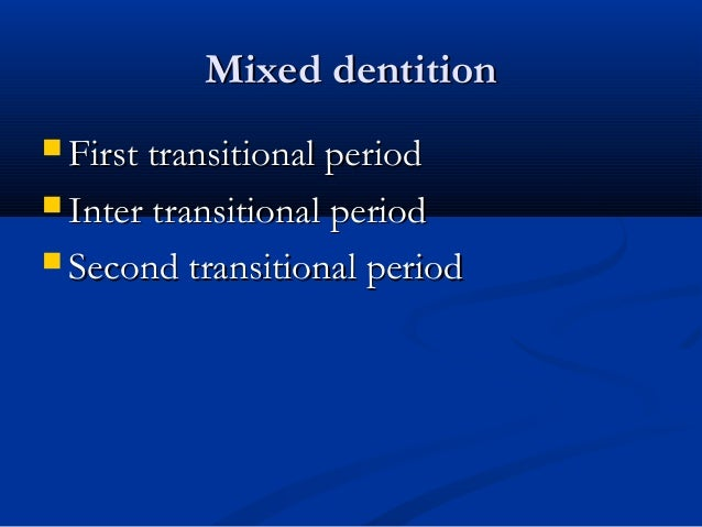 Mixed Dentition AnalysisMixed Dentition Analysis  Why: predict amount of crowding afterWhy: predict amount of crowding af...