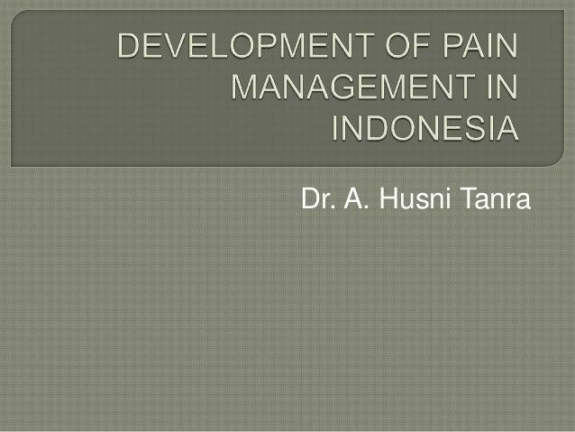 Dr. A. Husni Tanra