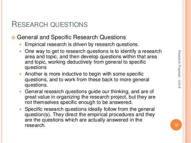 guide questions for research paper