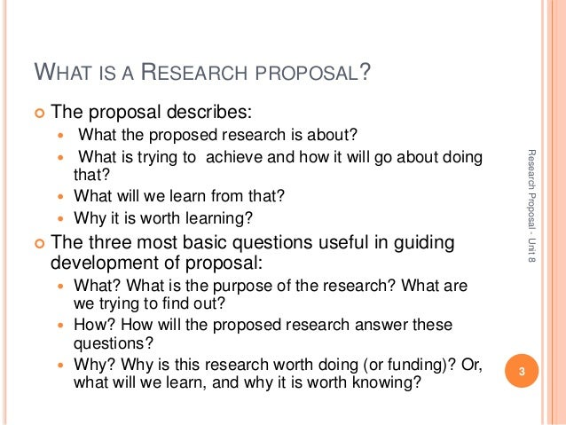 Buy a research proposal