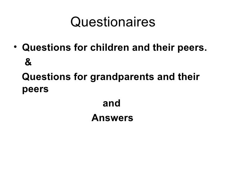 Development of school curricula questionaires and answers