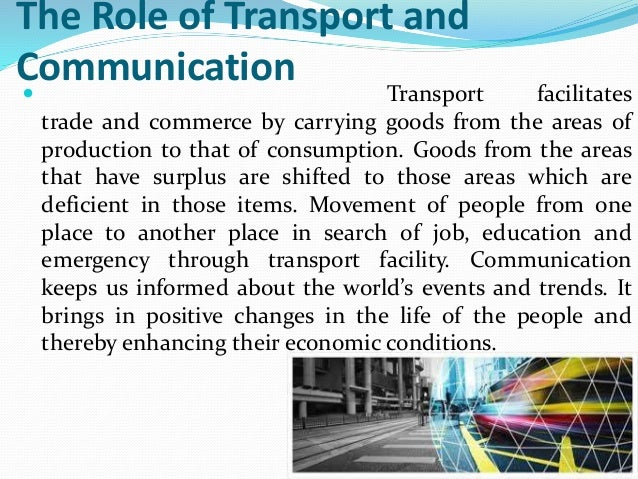 conclusion for modes of transportation Essay 5 modes of transportation in order to have easy mobility of persons and goods, it is necessary to have a sophisticated and widespread transportation system.