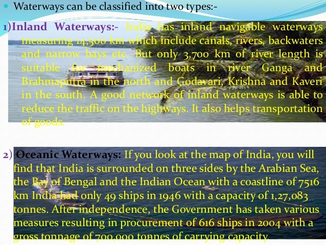 Development of transport and communication in india