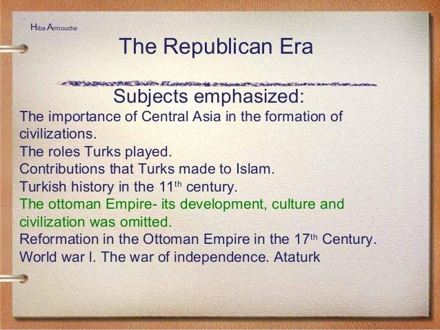 Development of the Turkish Curriculum and the Impact of John Dewey on…