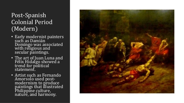 what are philippine arts during spanish regime It is important to have a broader view of the built environment during the spanish  colonial period while the architectural style is a product of gradual changes,.