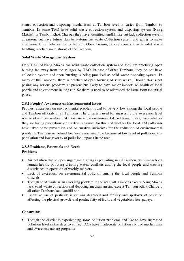 Decentralized Rural Development Planning : A Case Study of  Khok Charoen District, Lopburi Province, Thailand (Part I)