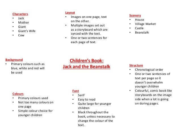 jack and the beanstalk analysis
